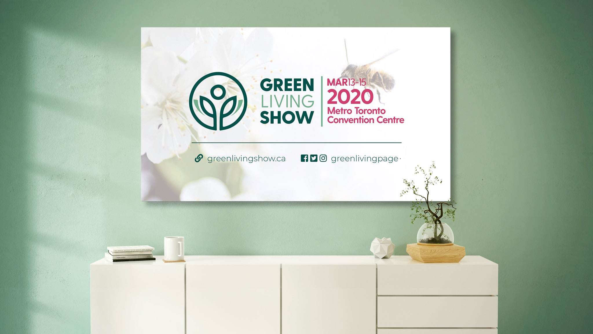 2020 Green Living Show dates
