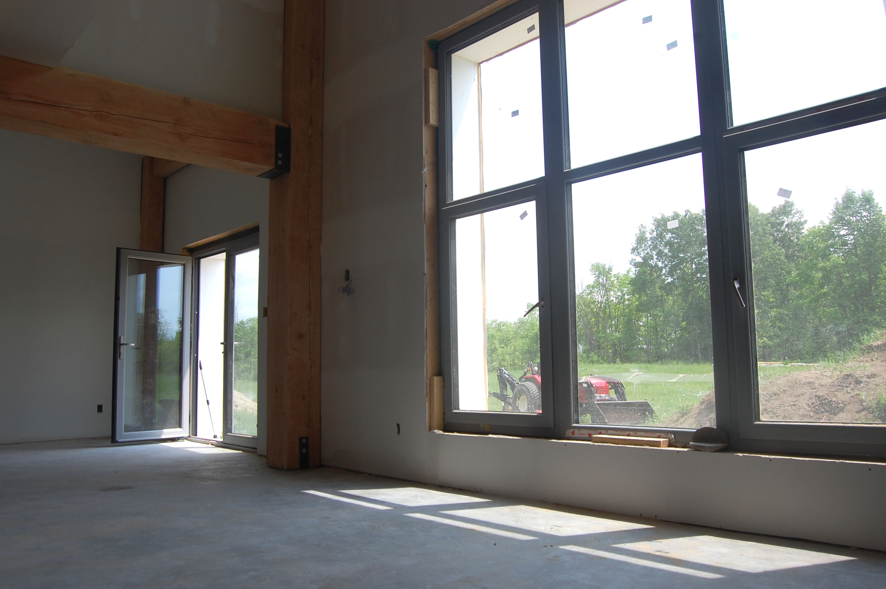 Munster Joinery windows and doors for the Ottawa passive house