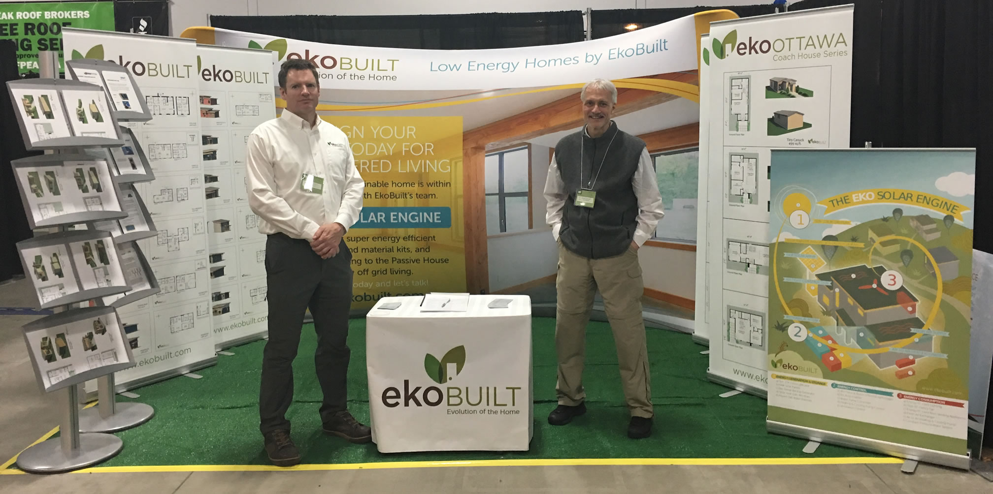 Ottawa home builder EkoBuilt at the Ottawa Home & Garden Show 2017